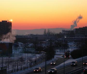 Luftforurensning