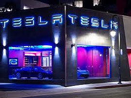 Tesla Concept Store