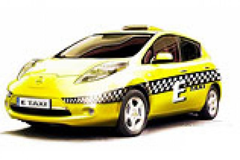 Mye å spare på el-taxi