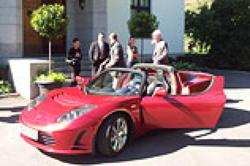 Ambassadekos med Tesla