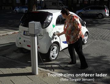 Trondheims ordfører lader