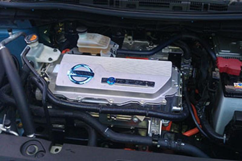 Lundetesten av elbilen Nissan LEAF