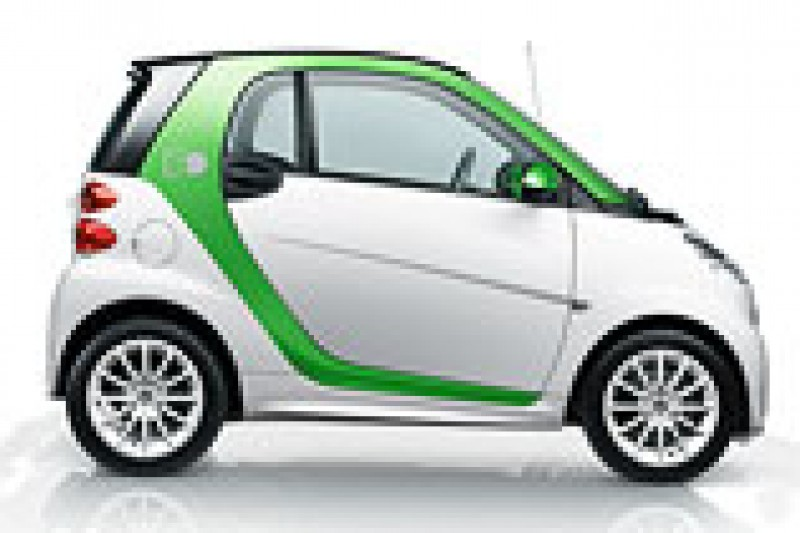 Daimler girer opp Smart elbil