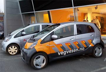 i-MiEV Vegvesen