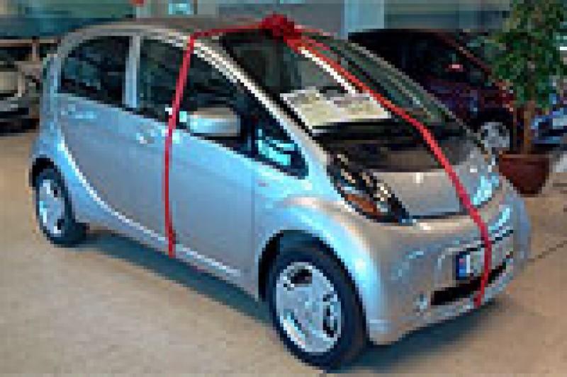Ny pris på elbilen i-MiEV