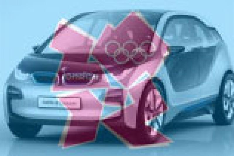 BMW med elbiler under OL