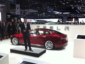 Tesla Model S Elon Musk