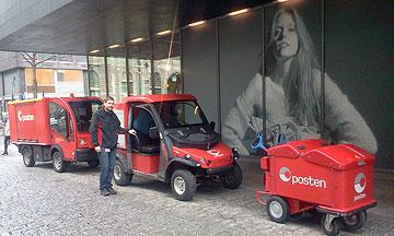 Posten el-kjøretøy