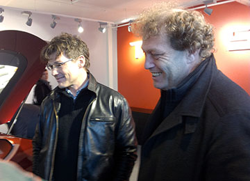 Frederic Hauge og Morten Harket