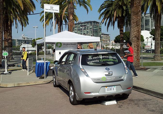 Nissan LEAF Plugless Power