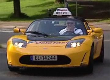 El-taxi Tesla