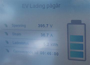 EV lading
