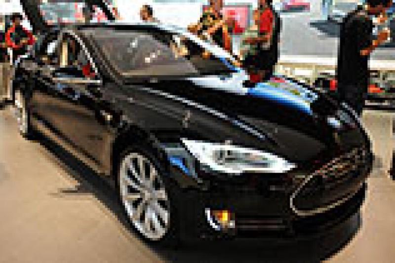 Tesla Model S igjen på Oslobesøk