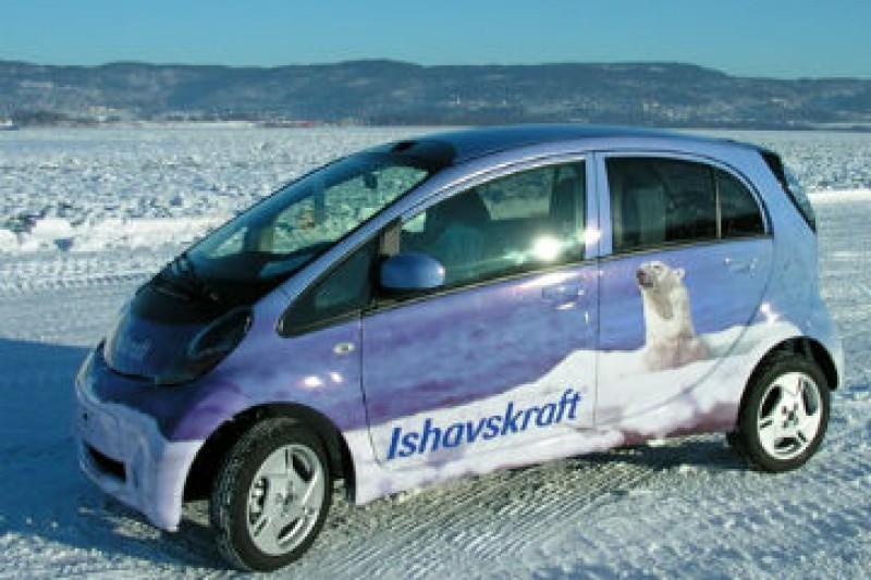 Vinteren reduserer elbilens rekkevidde