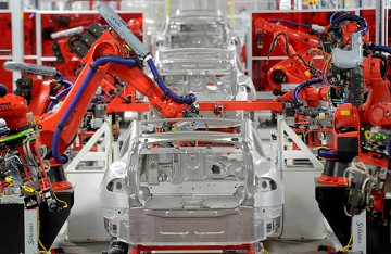 Model S produksjon