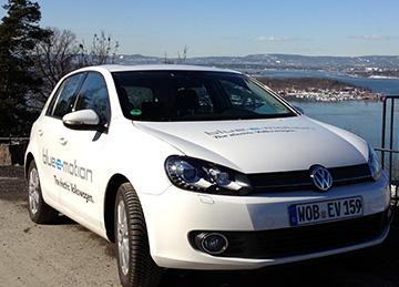 VW Golf e-BlueMotion
