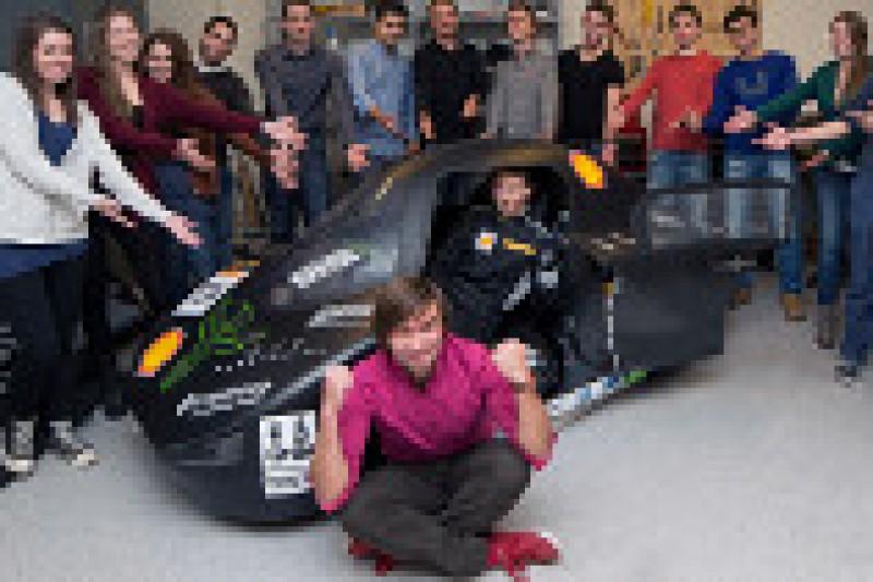 Studentelbil skal sette verdensrekord