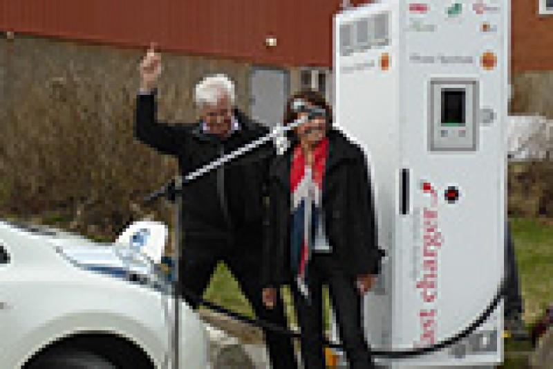 Til Gøteborg med elbil