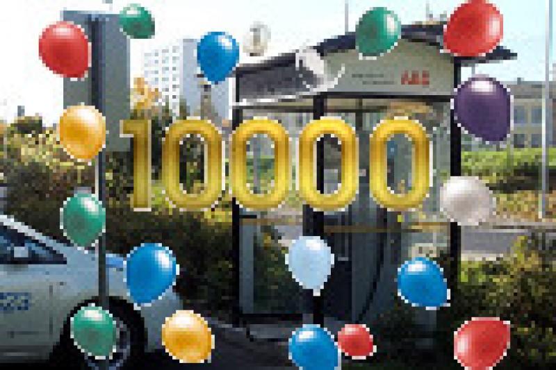 10.000 hurtigladinger på ett år
