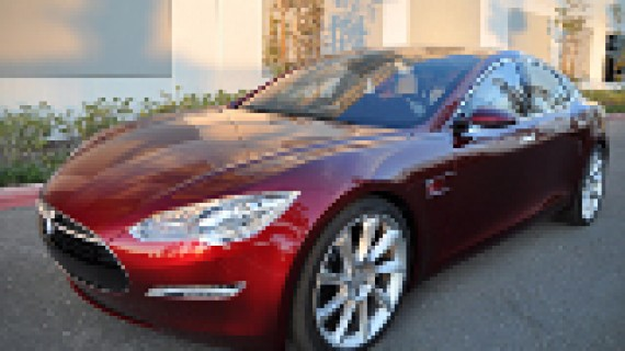 For ei uke for elbilen Tesla