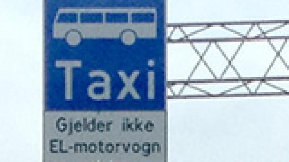Kollektivfelt i Oslo midlertidig stengt for elbiler