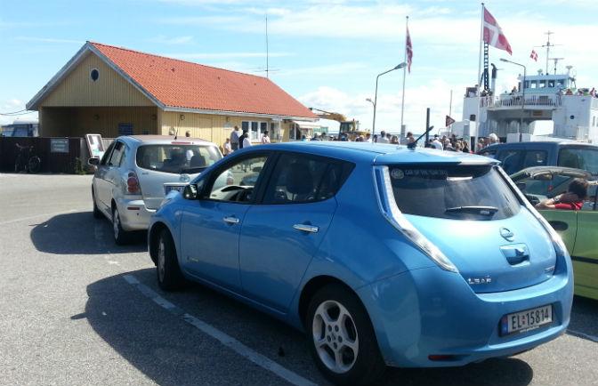 Nissan LEAF i Danmark