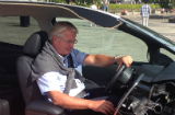 Oslo-ordfører Fabian Stang kjører halv LEAF
