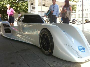 Nissans ZEOD-racer som skal til Le Mans neste år