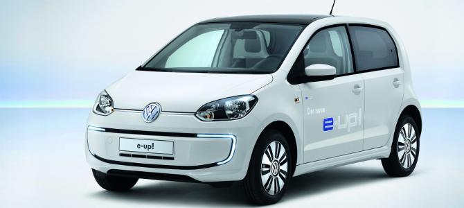 Volkswagen e-up! skal komme til Norge i midten av oktober