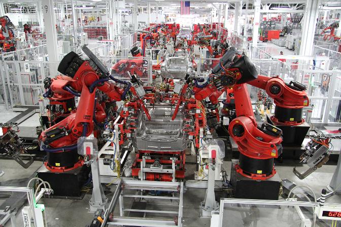 Teslafabrikken