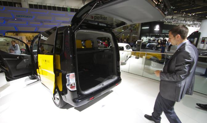 e-NV 200 blir en stor elbil
