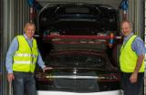 Tesla bidrar stort til elbiløkningen på Drammen havn