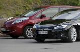 Model S og LEAF er de klart mest populære elbilene i Norge