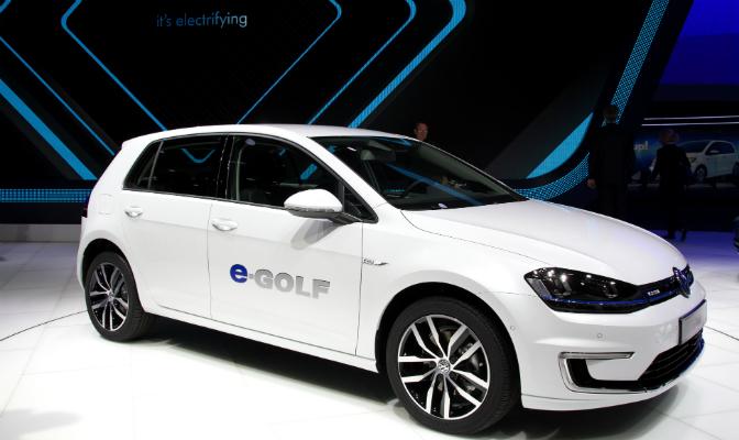 Volkswagen e-Golf kommer til Norge til våren