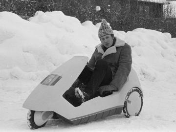 Arne Asphjell og hans Sinclair C5