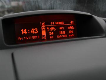 Regn med et gjennomsnittsforbruk på rundt 19 kWt