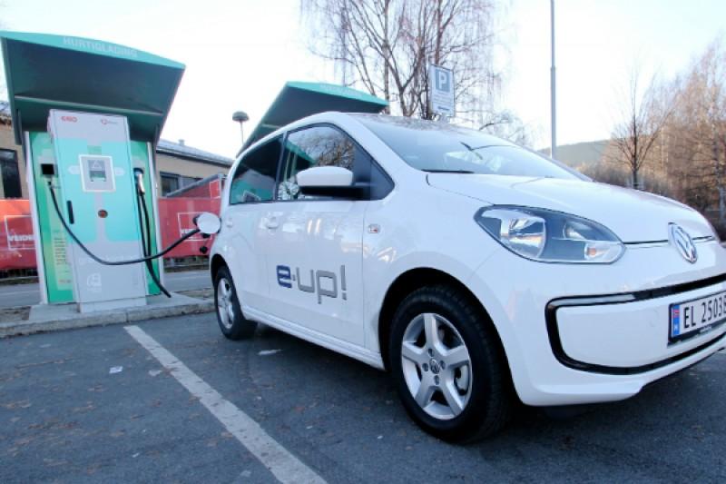 Test av Volkswagen e-up: Består hverdagstesten