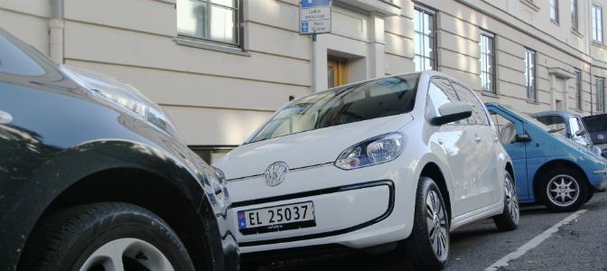 Etter halvannen måned på markedet, er det nå registrert rundt 500 Volkswagen e-up! i Norge.