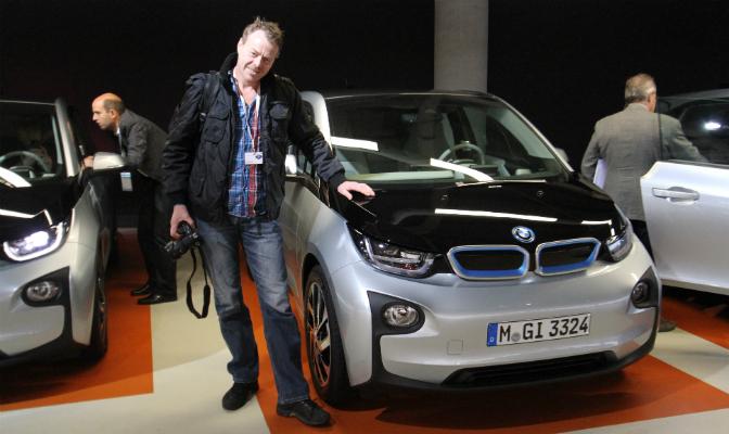 Øyvind Lunde er vår faste rekkeviddekontrollør. Den siste dagen i oktober slo han følge til Nederland for å prøvekjøre BMW i3. Lundetesten er en svært populær post på elbil.no.