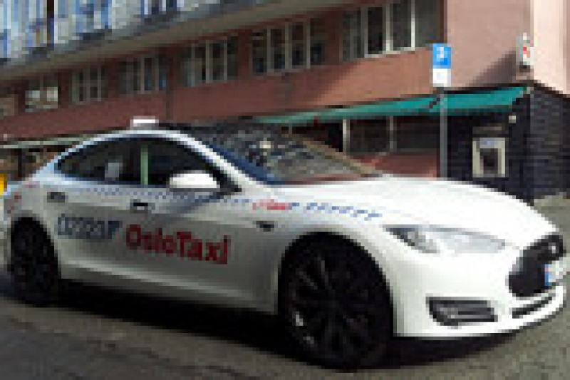 Alle taxier elektriske i 2020?
