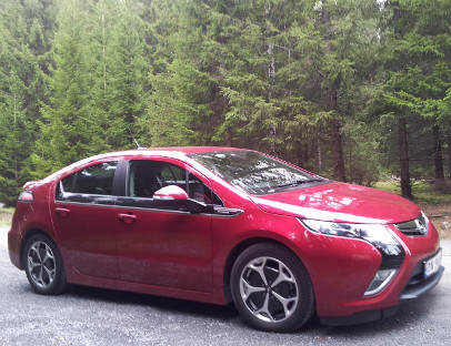 Opel Ampera opp 151,4 prosent
