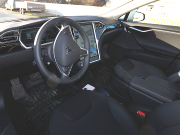 Tesla-interiør
