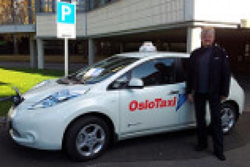 Utslippsfri taxinæring i Oslo