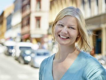 Miljø- og samferdselsbyråd Guri Melby (Foto: Sveinung Bråthen)