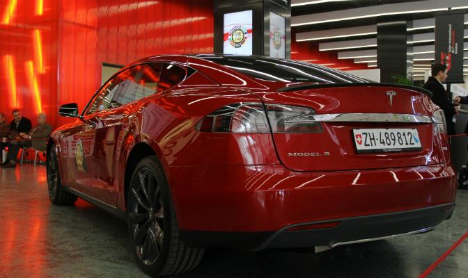 Model S tok tredjeplassen