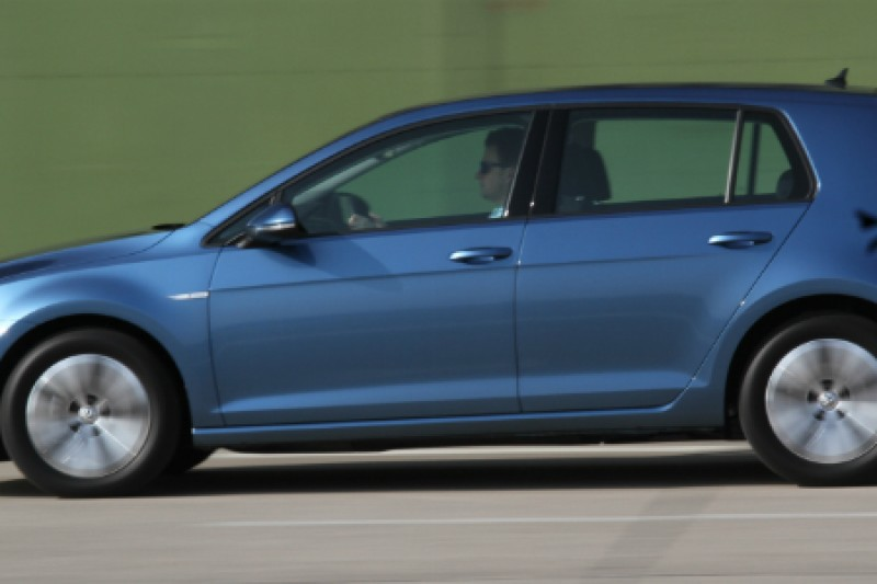 Prøvekjøring: Første tur med Volkswagen e-Golf