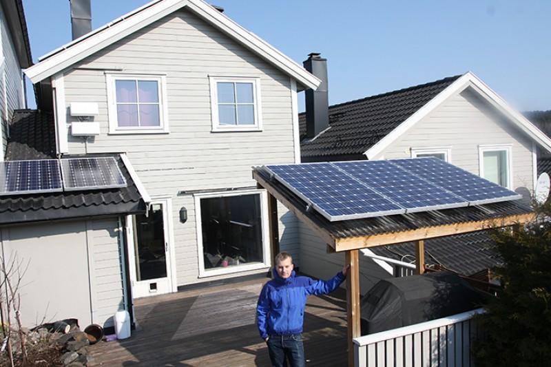 Elbil på solenergi