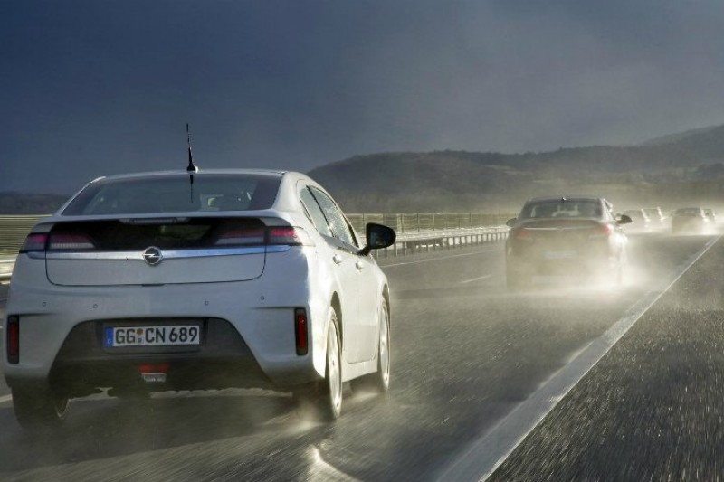 Test av Opel Ampera: Ei spanande oppleving