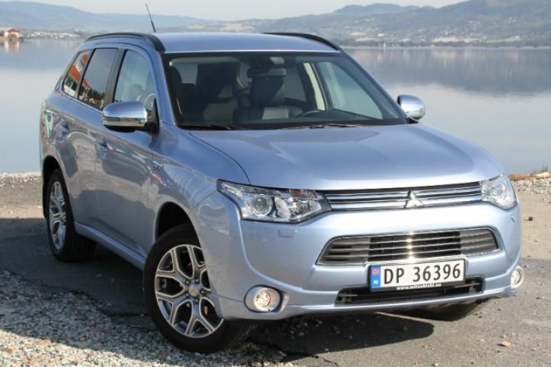 Test av Mitsubishi Outlander PHEV: Et solid kompromiss