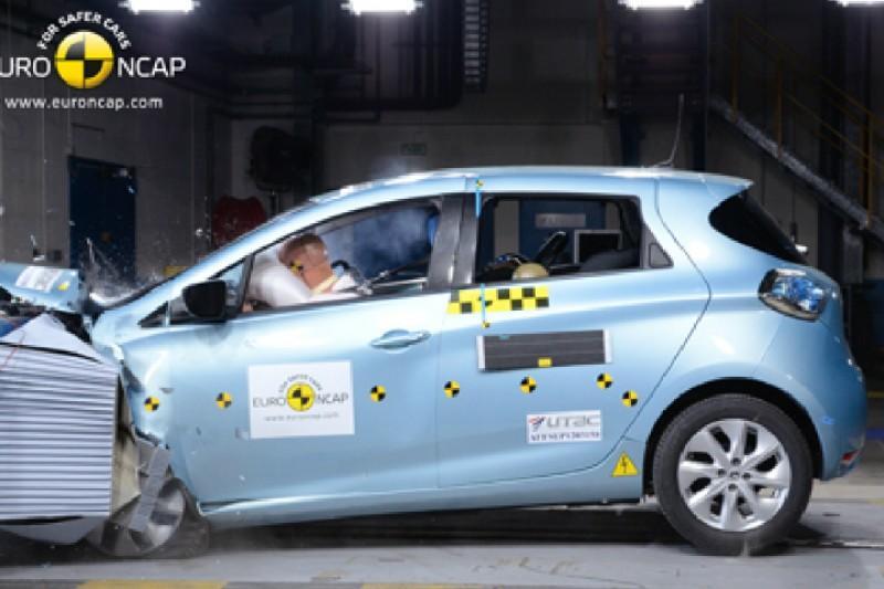 Sjekk hvor sikre elbilene er